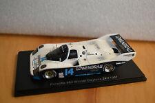 """Spark 1/43 Porsche 962 #14 """"Lowenbrau"""" Winner Daytona 1987 A. Holbert (43Da87)"""