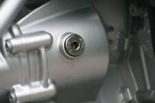 BMW R 100 GS Einfüllschrauben V2A Endantrieb u. Getriebe hochglanzpoliert