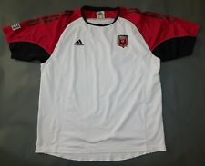 Vintage 2002 D.C. UNITED MLS SOCCER ADIDAS Short Sleeve Training Jersey Men's XL