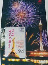 Macau 2004 international fireworks MNH miniature