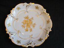 Antique JLMenau Graf Von Henneberg Porzellan Germany Porcelain Numbered Plate