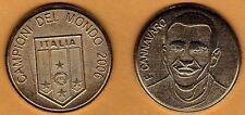 Moneta Coin Commemorativa Campioni del Mondo 2006 Cannavaro