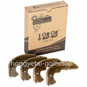 Golf Cart Brake Shoes Fit for Club Car 1995+ DS & Precedent 101823201 (set of 4)