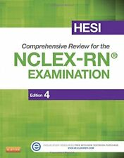 HESI Comprehensive Review for the NCLEX-RN Examination by HESI Staff (2013,...