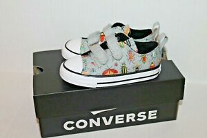 Converse Insects Bug Sneakers Shoes 770710F Infant Toddler Boy Size 7 NEW