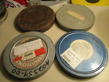 16mm 400ft  7 Inch Heavy Duty Metal  Cans / Set Of 8 In Case Set No 1