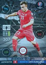 Xherdan Shaqiri Limited Edition - Panini Adrenalyn XL Road to Euro 2016 France