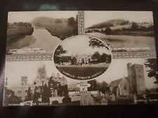 LLANDILO, River Towy, Church, Dynevor Castle, Penlan Pk. Golden Grove, RPPC 1914