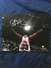 NBA Signed Auto Patrick Ewing Arms Out 8x10 Steiner COA HOF New York Knicks