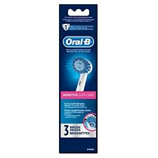 NEW Oral B Power Sensitive Replacement Electric Toothbrush Head Refill 3 Count