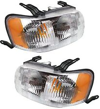 2001 2002 2003 2004 FORD ESCAPE HEAD LIGHTS LAMP LEFT & RIGHT PAIR SET 2PCS