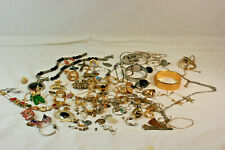Costume Fashion Junk Craft Necklace Jewelry 20Oz 1.25 Lb Lot Most Metal New Old
