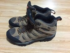 Merrell Moab Mid Waterproof Earth Mens Hiking Boot J88623 Size 9