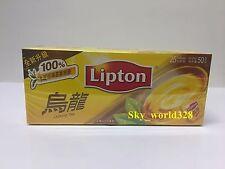 Lipton Oolong Tea Bag x 1 Box (25 bags) - 2g x 25g - Free Shipping