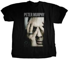 Peter Murphy - Hands on Face Men's Black T-shirt - SIZE MEDIUM - BRAND NEW