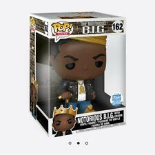 "Funko Pop! Rocks: Notorious B.I.G with crown 10"" inch Biggie Smalls"