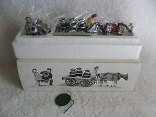 DEPT 56 - New England - A NEW POTBELLIED STOVE FOR CHRISTMAS - NEW - Set of 2