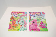 MY LITTLE PONY SUPER ACTIVITY TABLET BOOK 1 & 2 COLORING BOOK PUZZLES 2003