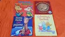 Anna Dewdney Books (Lot 4) Nobunny's Perfect, Roly Poly Pangolin, Llama Llama