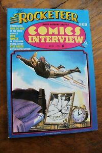 Comics Interview Magazine #89 Rocketeer Movie Paul de Meo