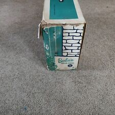 Vintage Barbie dream house 1962 fold up with cardboard furniture almost comple