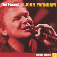 JOHN FARNHAM (3 CD) THE ESSENTIAL 3.0 LIMITED EDITION ~ GREATEST HITS *NEW*