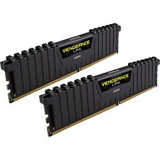 Corsair DIMM 16GB DDR4-2666 Kit, Arbeitsspeicher, schwarz