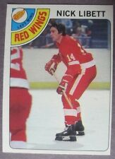 1978-79 Topps #251 Nick Libett Detroit Red Wings