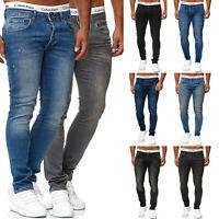 Code47 Designer Herren Jeans Hose Regular Skinny Fit Jeanshose Basic Stretch
