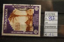FRANCOBOLLI COLONIE TRIPOLITANIA USATI N°97 (A10765)