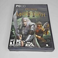 Lord Of The Rings Battle For Middle Earth II PC 6 CD-ROM Game COMPLETE TLOTR