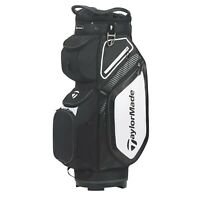 TaylorMade Pro Cart 8.0 Bag (2020 Version) Black/White/Charcoal