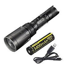 Nitecore SRT7GT Flashlight -1000 Lumens w/NL1834R 18650 Battery +Free USB Cable