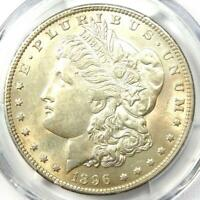 1896-O Morgan Silver Dollar $1 - PCGS Uncirculated Detail - Rare Date in UNC/MS!