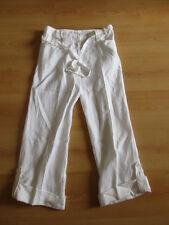Pantalon en lin  Julie GUERLANDE Blanc Taille 38 à - 53%