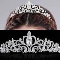 Hair Tiara Crown Headband Wedding Bridal Princess Crystal Prom Party Jewelry