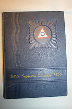Original 1950 Dated U.S. Army 39th Infantry Division Hardcover Yearbook