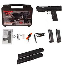 Tippmann TiPX TPX Paintball Pistol Kit Gun 4 Clips NEW Extended 2 12 Ball Mags