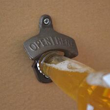 Cast Iron Wall Mount Bottle Openers Ebay