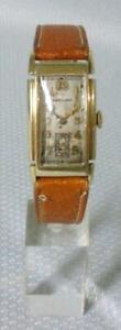 Vintage Hamilton Curvex Wrist Watch Dickens