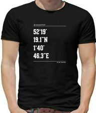 New listing Surfing Coordinates Southwold Mens T-Shirt - Surf - Surfer - Beach - Board - Sea