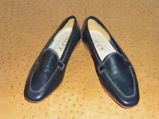 Chaussures vintage bleus pour femme Années 1980