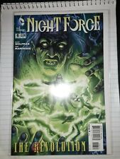 Night Force #6 (2012 3rd Series, October 2012, DC)