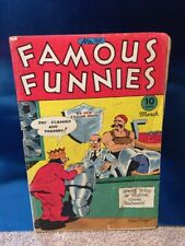 Famous Funnies #140 Eastern Color 1946 Golden Age Comic Book Buck Rogers
