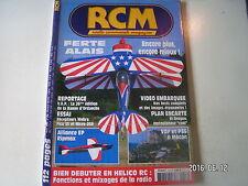 ** RCM n°256 Plan encarté El Dragon motoplaneur electrique / Alliance EP Ripmax