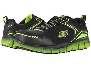 Man's Sneakers & Athletic Shoes SKECHERS Work Telfin - Rieg Composite Toe