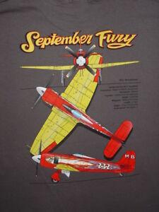 "Hawker Sea Fury ""September Fury"" Reno Air Racer t-shirt. Sizes S,L,XL,XXL,XXXL."