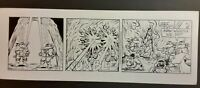 Tmnt original comic strip Teenage Mutant Ninja Turtles 1991 Daily Art