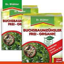 Dr. Stähler 2 x 50 ml Buchsbaumzünsler Frei Organic