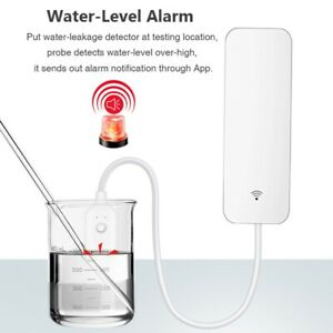 Home Alarm Water Leakage Alarm WIFI Leak Sensor Water Flood Overflow Detector